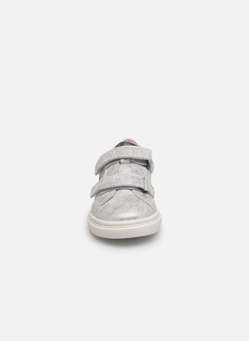 Sneakers Acebo's Basket 3099BA Argento modello indossato