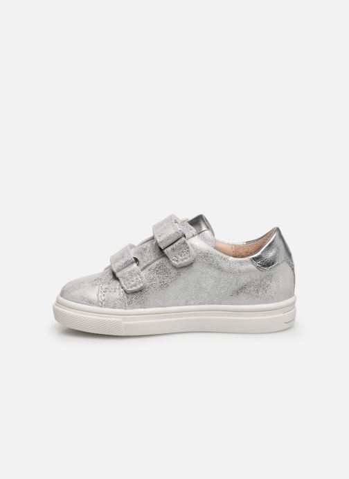 Sneakers Acebo's Basket 3099BA Argento immagine frontale