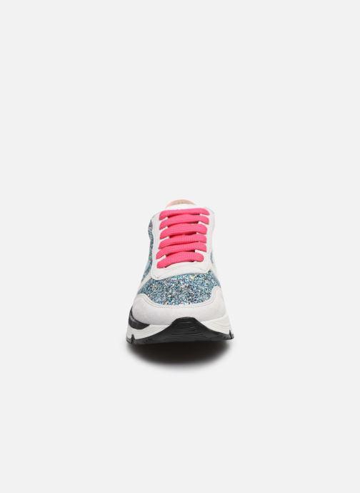 Sneakers Acebo's Basket 9800LU Argento modello indossato