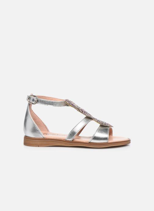 Sandales et nu-pieds Acebo's Sandale 5360 Argent vue derrière