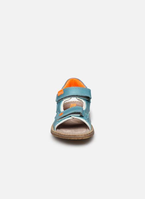 Sandales et nu-pieds Stones and Bones Denos Bleu vue portées chaussures