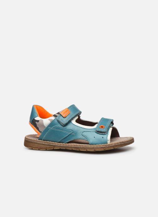 Sandales et nu-pieds Stones and Bones Denos Bleu vue derrière
