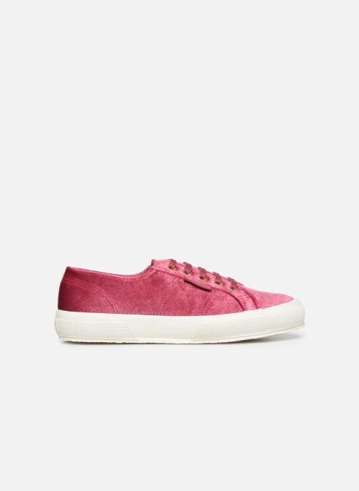 Sneakers Superga 2750 Velvet Chenille W Roze achterkant