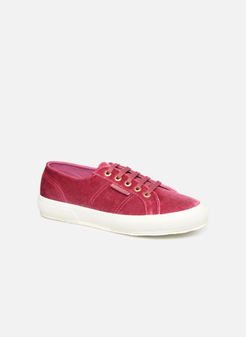 Baskets Superga 2750 Velvet Chenille W Rose vue détail/paire