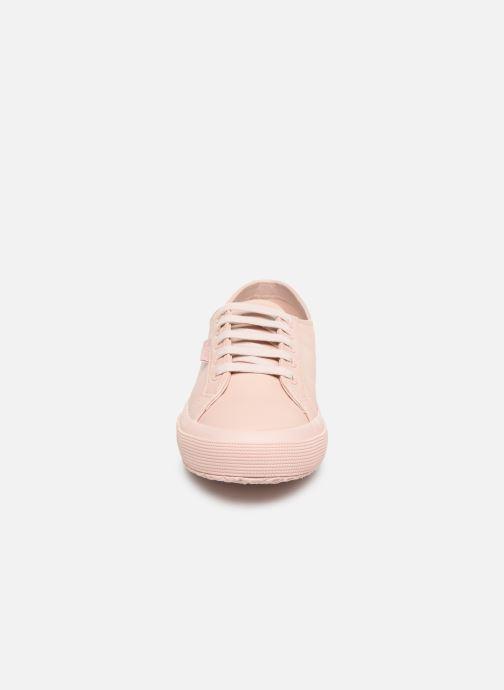 Baskets Superga 2750 Nappaleau Rose vue portées chaussures