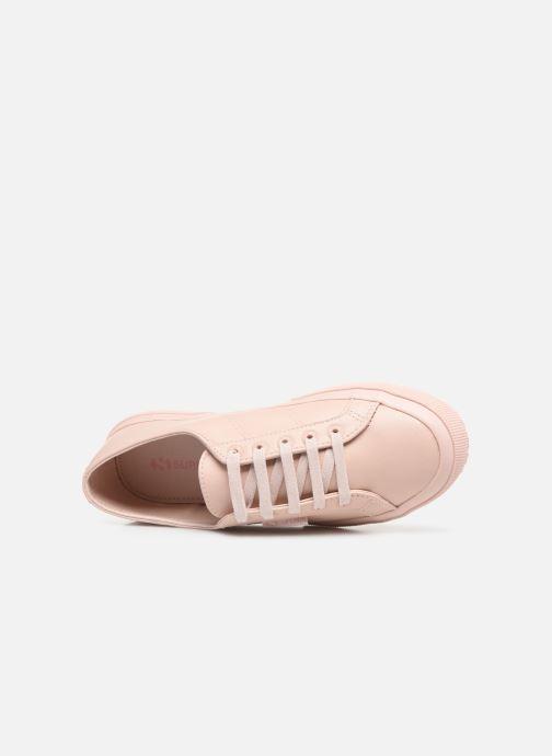 Sneakers Superga 2750 Nappaleau Rosa immagine sinistra
