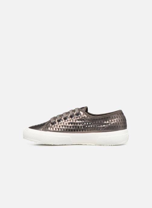 Sneaker Superga 2750 Lase Red Synt W grau ansicht von vorne