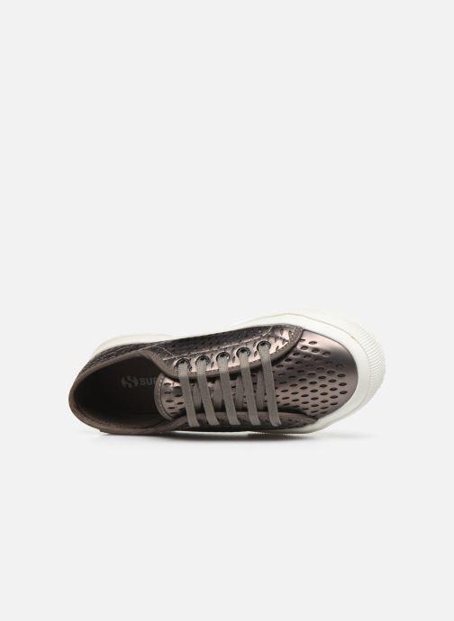 Sneaker Superga 2750 Lase Red Synt W grau ansicht von links