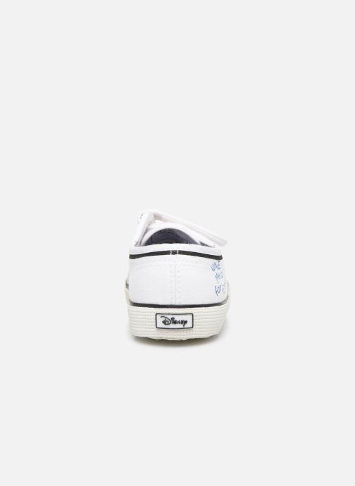 Sneakers Superga Disney X 2750 J Velcro E Wit rechts