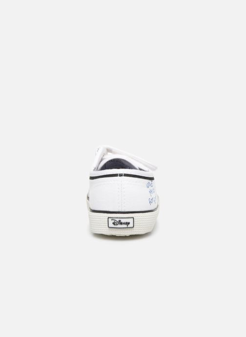 Baskets Superga Disney X 2750 J Velcro E Blanc vue droite