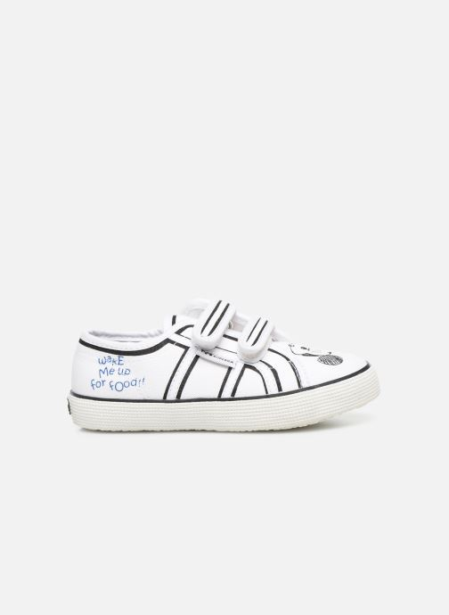 Sneakers Superga Disney X 2750 J Velcro E Wit achterkant