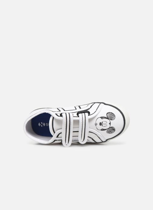 Trainers Superga Disney X 2750 J Velcro E White view from the left