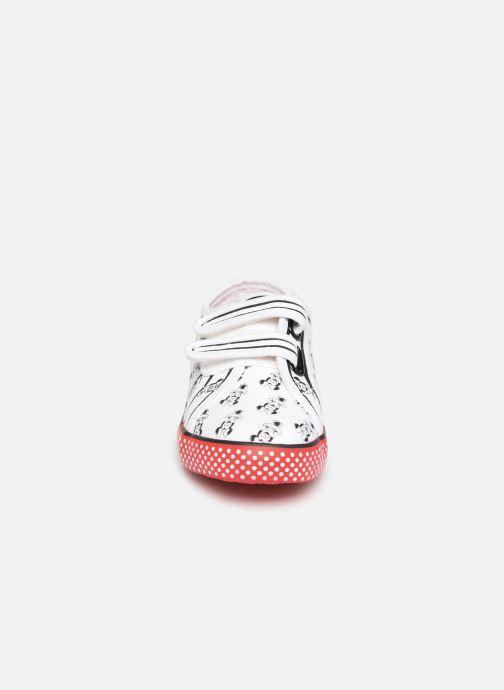 Baskets Superga Disney X 2750 J Velcro E Blanc vue portées chaussures
