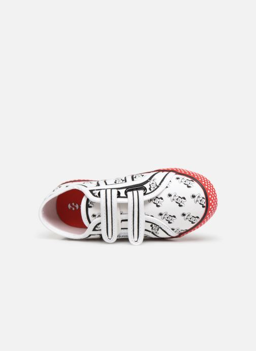 Sneakers Superga Disney X 2750 J Velcro E Bianco immagine sinistra