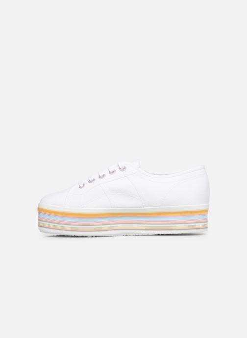 Sneakers Superga 2790 Multicolor Cot W Wit voorkant