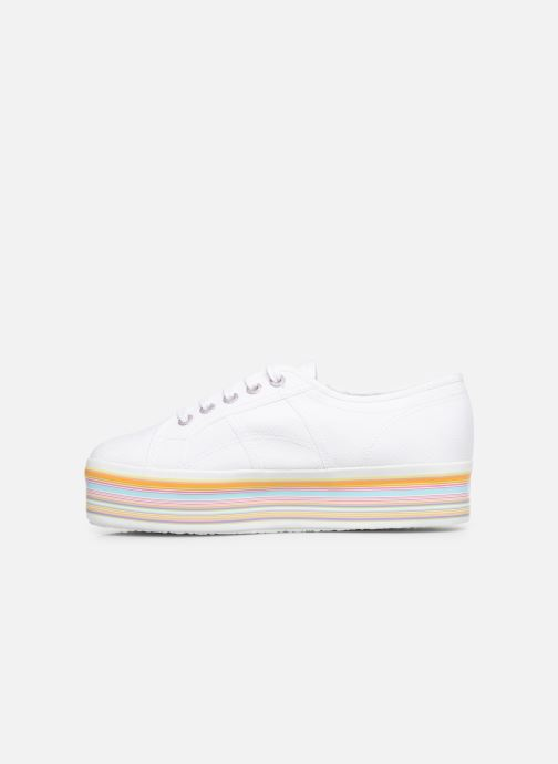 Deportivas Superga 2790 Multicolor Cot W Blanco vista de frente