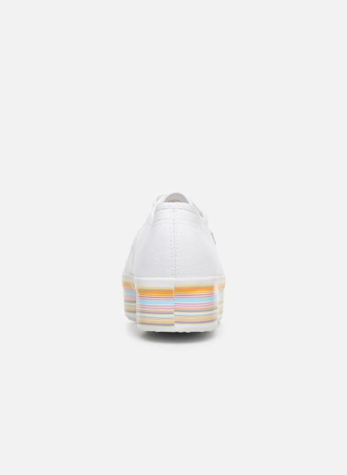 Baskets Superga 2790 Multicolor Cot W Blanc vue droite