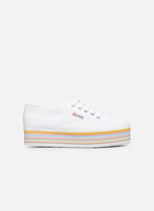 Sneakers Superga 2790 Multicolor Cot W Wit achterkant