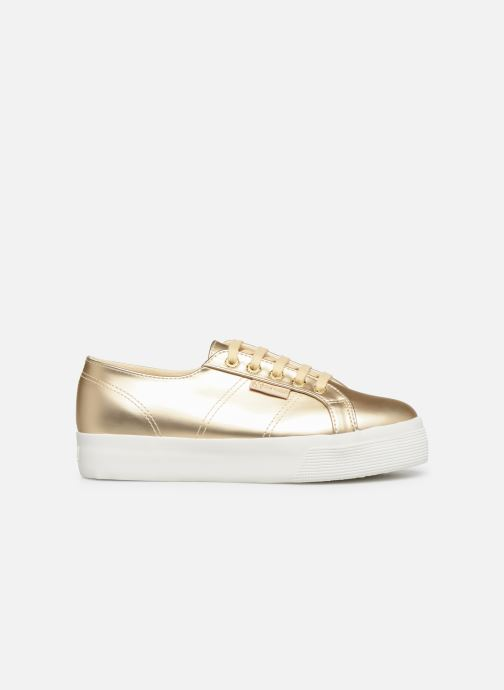 Trainers Superga 2730 Synt Pearl DW Bronze and Gold back view