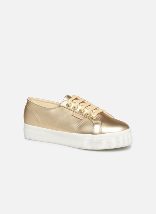 Trainers Superga 2730 Synt Pearl DW Bronze and Gold detailed view/ Pair view