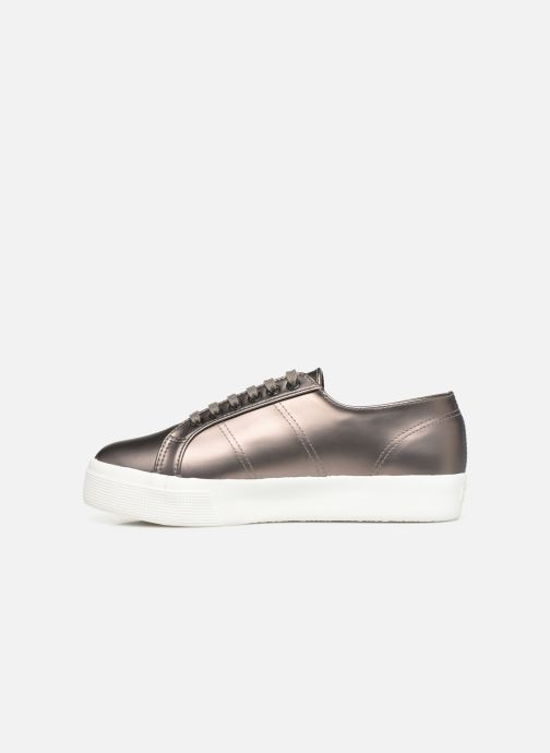 Baskets Superga 2730 Synt Pearl DW Gris vue face