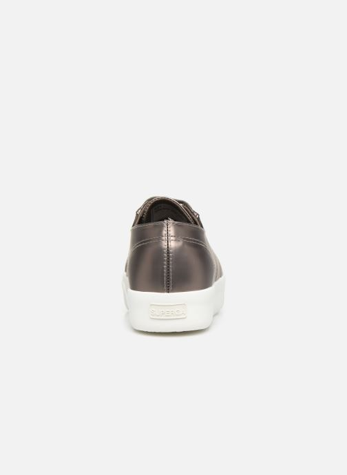 Trainers Superga 2730 Synt Pearl DW Grey view from the right