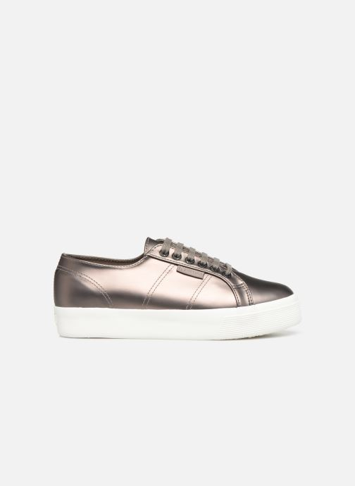 Sneakers Superga 2730 Synt Pearl DW Grijs achterkant