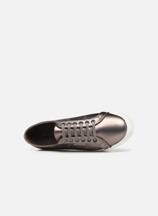 Trainers Superga 2730 Synt Pearl DW Grey view from the left