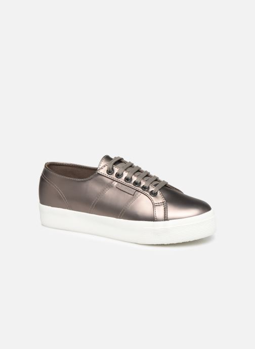 Trainers Superga 2730 Synt Pearl DW Grey detailed view/ Pair view