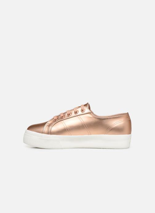 Sneaker Superga 2730 Synt Pearl DW rosa ansicht von vorne