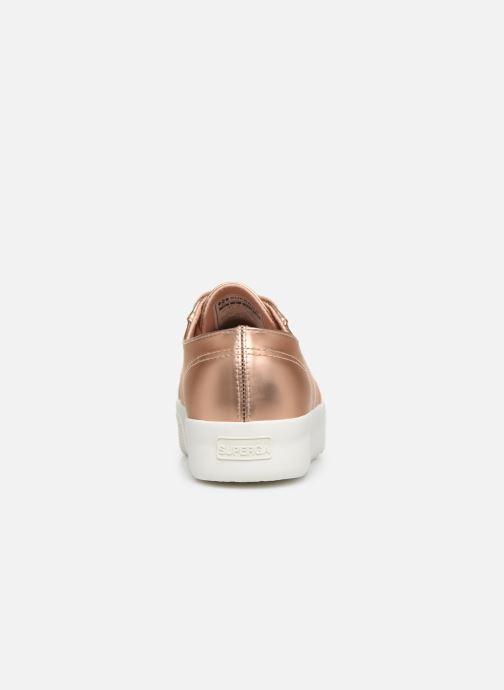 Sneaker Superga 2730 Synt Pearl DW rosa ansicht von rechts