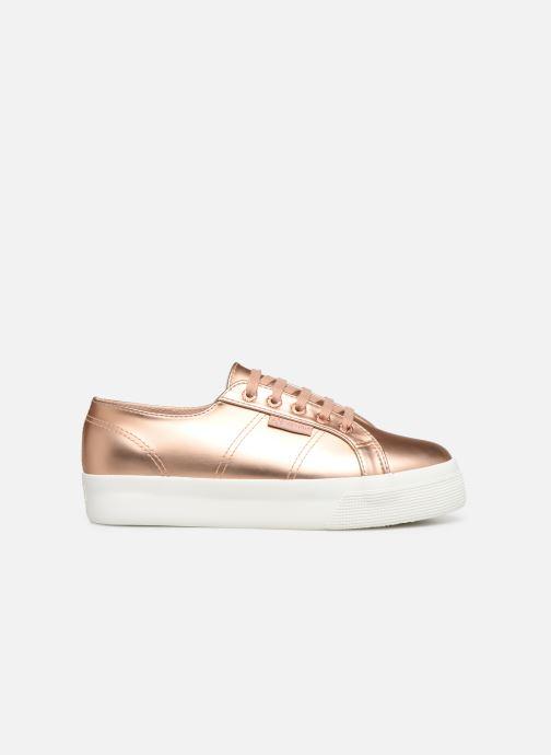 Sneaker Superga 2730 Synt Pearl DW rosa ansicht von hinten