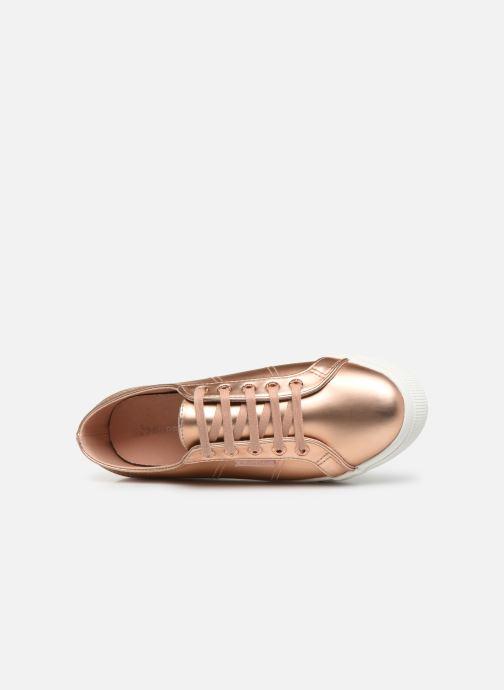 Sneaker Superga 2730 Synt Pearl DW rosa ansicht von links