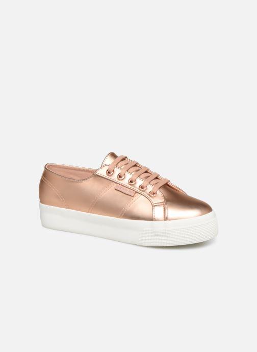 Sneaker Superga 2730 Synt Pearl DW rosa detaillierte ansicht/modell