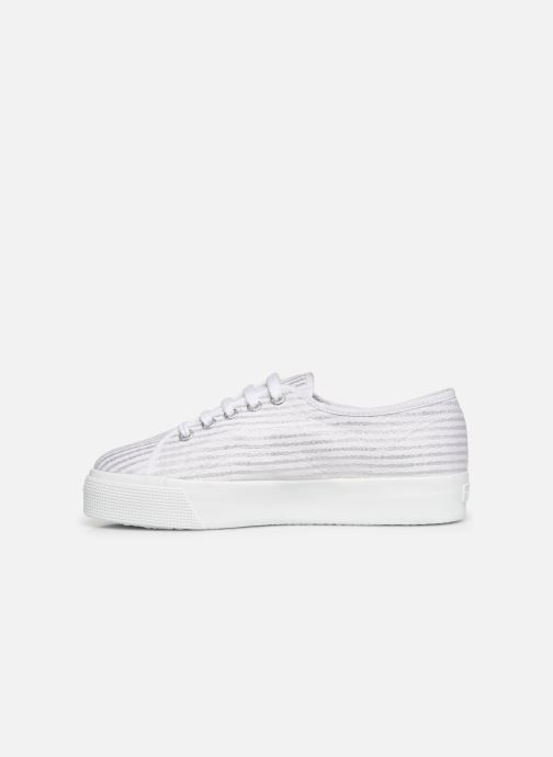 Sneakers Superga 2730 Cot Lame W Wit voorkant
