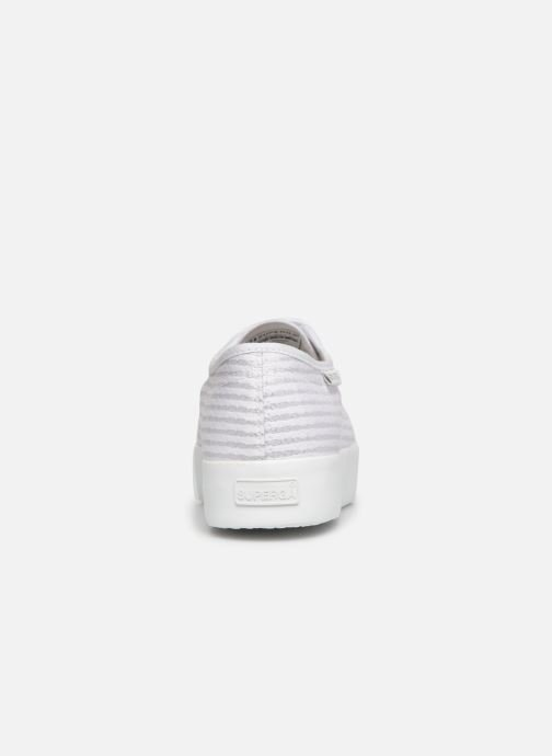 Sneakers Superga 2730 Cot Lame W Wit rechts