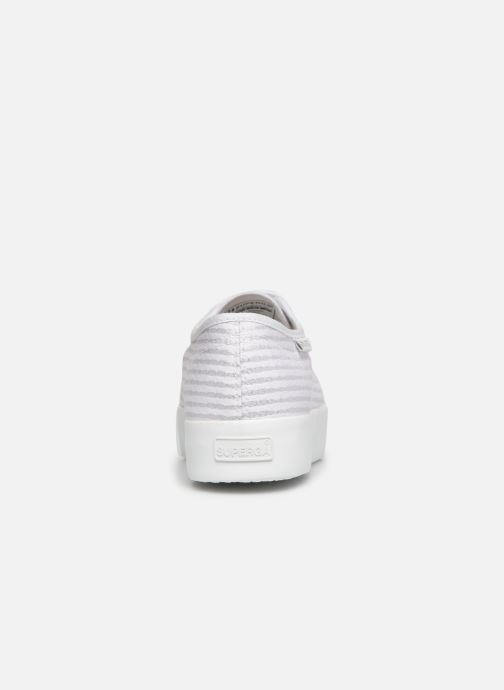 Sneakers Superga 2730 Cot Lame W Bianco immagine destra