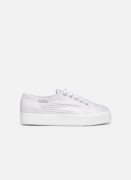 Sneakers Superga 2730 Cot Lame W Wit achterkant