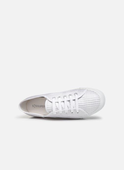 Sneakers Superga 2730 Cot Lame W Bianco immagine sinistra