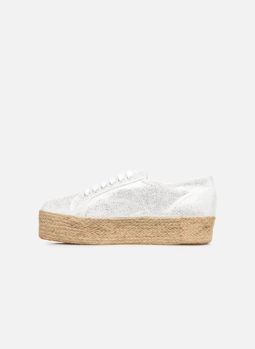 Sneakers Superga 2790 Jersey Frost Lame W Zilver voorkant