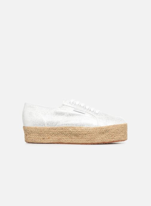 Sneakers Superga 2790 Jersey Frost Lame W Zilver achterkant