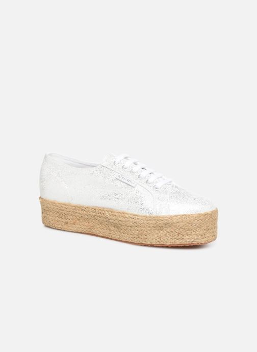 Sneakers Superga 2790 Jersey Frost Lame W Zilver detail