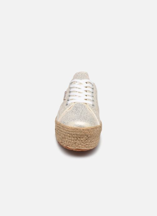 Sneakers Superga 2790 Jersey Frost Lame W Blauw model