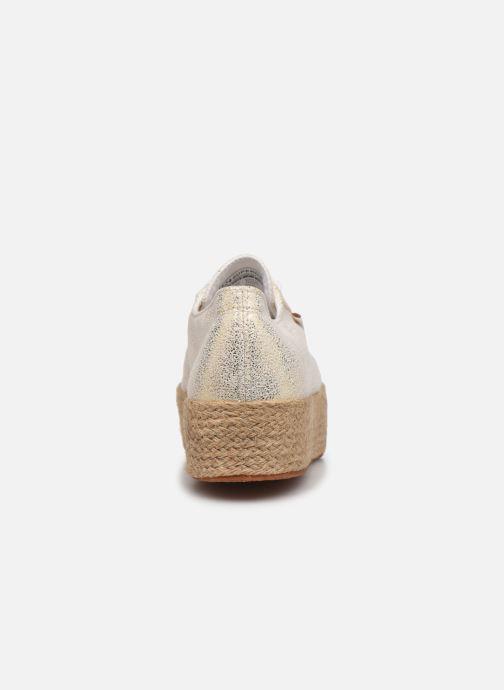 Sneakers Superga 2790 Jersey Frost Lame W Goud en brons rechts