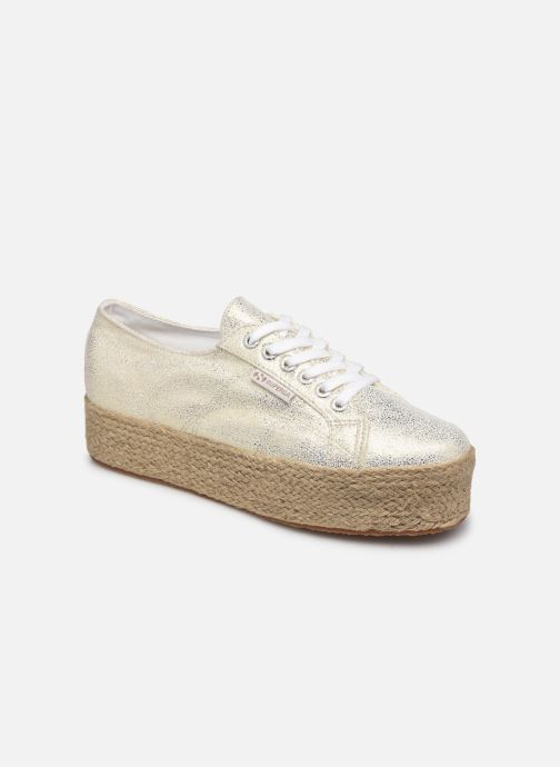 Sneakers Superga 2790 Jersey Frost Lame W Blauw detail