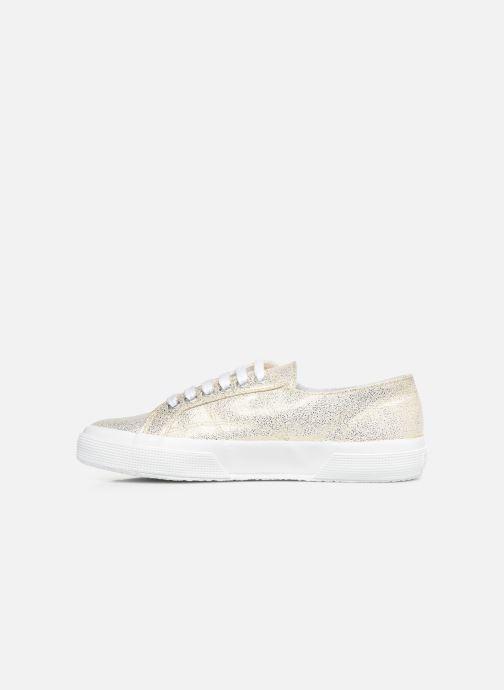 Sneakers Superga 2750 Jersey Frost Lame W Oro e bronzo immagine frontale