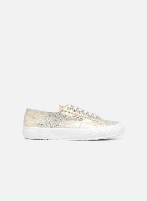 Deportivas Superga 2750 Jersey Frost Lame W Oro y bronce vistra trasera