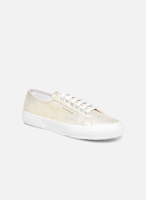 Baskets Superga 2750 Jersey Frost Lame W Or et bronze vue détail/paire