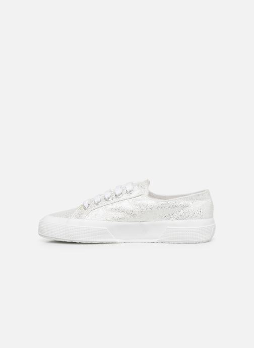 Baskets Superga 2750 Jersey Frost Lame W Argent vue face