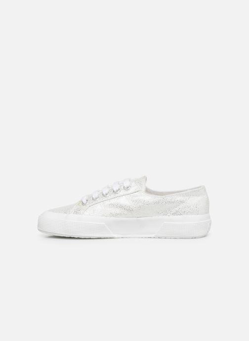 Sneaker Superga 2750 Jersey Frost Lame W silber ansicht von vorne